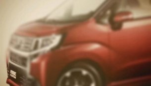 Japan - New Daihatsu Move Custom kei car's first images revealed