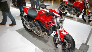 EICMA 2014 Live - Ducati Monster 1200 S Stripe and Monster 821 Stripe