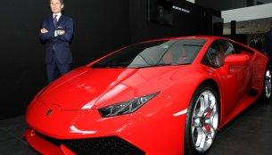 IAB Report - Lamborghini inaugurates showroom in Bengaluru