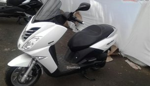 Spied - Peugeot scooters have landed in India