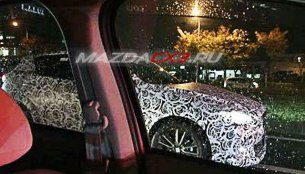 Spied - Mazda CX-3 compact SUV (EcoSport rival) caught testing ahead of LA reveal