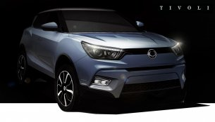 Ssangyong Tivoli compact SUV teased - Video