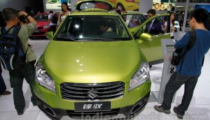 Guangzhou Live - India-bound Suzuki SX4 S Cross