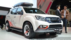 IAB Report - Isuzu MU-X Special Edition shown at the Thailand Motor Expo