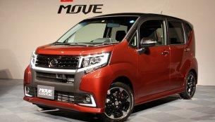 2015 Daihatsu Move, Move Custom kei cars launched - Japan