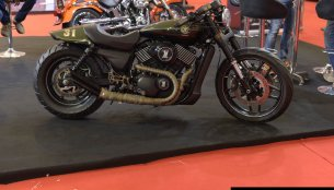 Motomiu Katunga Uno (custom HD Street 750) showcased in India - IAB Report