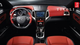 Ssangyong Tivoli compact SUV's interior and features revealed - IAB Report