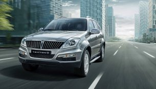 2015 Ssangyong Rexton launched in Korea with new grille, headlamp - IAB Report