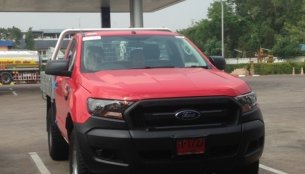 2015 Ford Ranger (facelift) spotted undisguised in Thailand - Spied