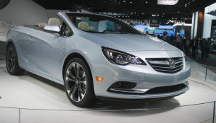 2015 NAIAS Live - Buick Cascada