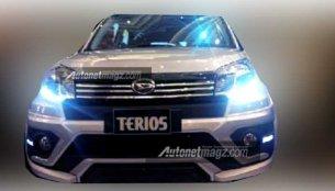 Daihatsu Terios facelift (Toyota Rush's cousin) mini SUV leaked - Indonesia