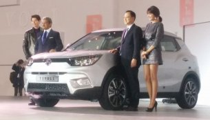Ssangyong Tivoli compact SUV launched in Korea – IAB Report