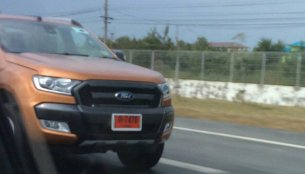 2015 Ford Ranger Wildtrack (facelift) caught undisguised - Spied