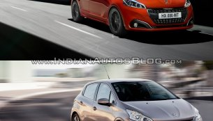 2015 Peugeot 208 vs Peugeot 208 - Old vs New