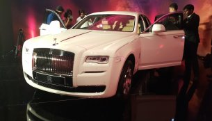 Rolls Royce Ghost Series II launched in Chennai - IAB Report