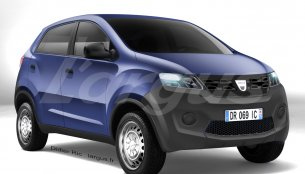 Dacia's entry-level small car based on Datsun Redi-Go concept - Rendering