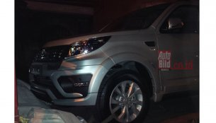 2015 Daihatsu Terios (facelift) front exposed - Spied