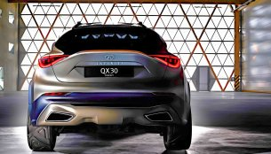 Infiniti QX30 SUV Concept glimpsed before its Geneva showcase - IAB Report