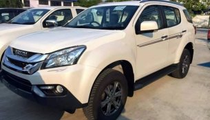 Limited edition Isuzu MU-X spotted - Thailand