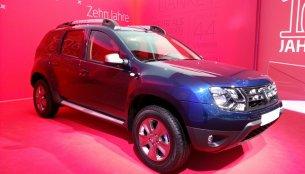 Dacia Duster, Logan, Lodgy anniversary editions - 2015 Geneva Live