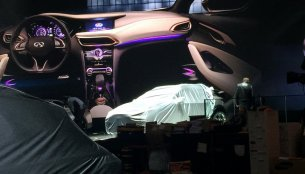 Infiniti QX30 Concept's interior leaks out ahead of Geneva show premiere - Report