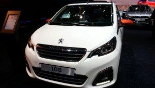 Peugeot 108 special editions - 2015 Geneva Live