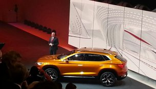 Seat 20V20 SUV Concept revealed - IAB Report