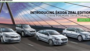 Skoda India launches 'Zeal' edition with black interior across model range - IAB Report