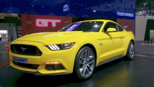 Ford Mustang (reportedly India-bound) - 2015 Seoul Live