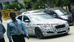 2016 Jaguar XF spotted testing in India for the first time - Spied