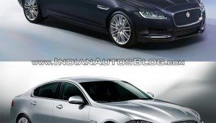 2016 Jaguar XF vs 2012 Jaguar XF - Old vs New