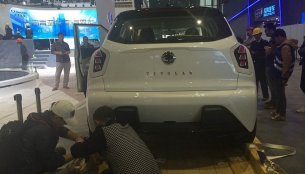 Ssangyong Tivoli EVR showcased at Seoul Motor Show 2015 [Update]