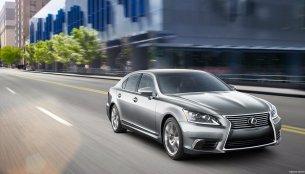 Lexus introduces minor updates for the 2016 Lexus LS - IAB Report