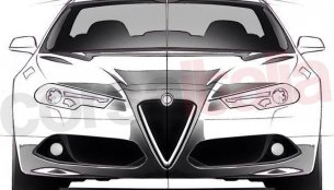 2016 Alfa Romeo Giulia unofficial sketches emerge - Report