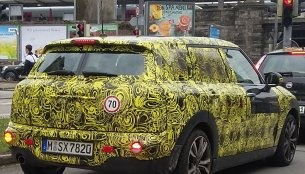 IAB reader snaps the 2016 Mini Clubman on test - Spied