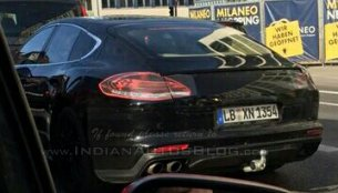 2016 Porsche Panamera snapped testing by IAB readers - Spied