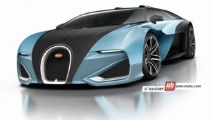 2017 Bugatti Chiron (Veyron successor) - Rendering
