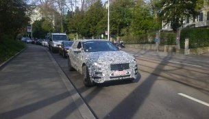 IAB reader snaps the Jaguar F-Pace SUV testing in Europe - Spied