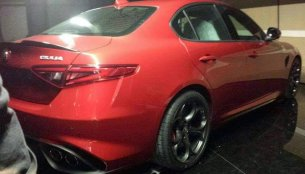 2016 Alfa Romeo Giulia leaks out prematurely - Spied
