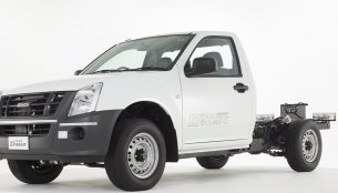 Isuzu D-Max gets AC; cab-chassis variant launched - IAB Report