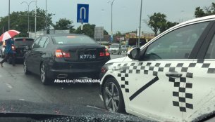 RHD units of the Peugeot 408 spotted in Malaysia - Spied