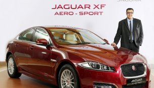 Jaguar XF Aero-Sport launched in India at INR 52 lakhs - IAB Report