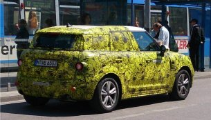 2017 Mini Countryman PHEV spotted in Munich - Spied