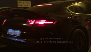 2017 Porsche Panamera Turbo snapped in the Middle East - Spied