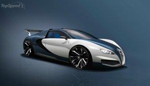 Bugatti Chiron - Rendering