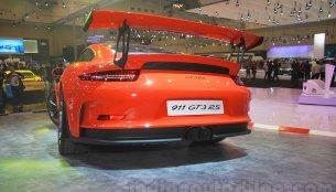 Porsche Cayman GT4, Porsche 911 GT3 RS - GIIAS 2015 Live