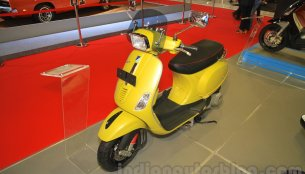 Vespa S 125 on show at IIMS 2015 - IAB Report