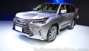 7-seat Lexus LX 570 (petrol) launched in India, priced at INR 2.3 crore