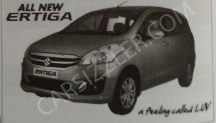 Maruti Ertiga facelift will get SHVS, petrol AT variant - Report