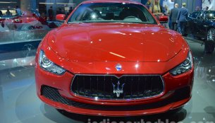 Maserati upgrades engines to Euro VI - 2015 Frankfurt Motor Show Live